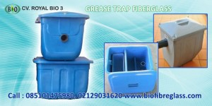 Grease Trap Fiberglass